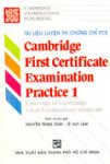 Tài liệu luyện thi chứng chỉ FCE - Cambridge first certificate examination practice 1